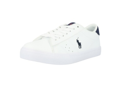 Theron Sneaker, white/navy