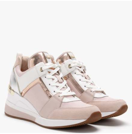 Georgie Trainer, soft pink