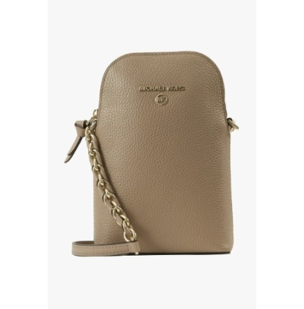 Jet Set Charm; Phone Crossbody, truffle