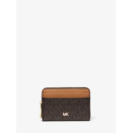 Mott; Coin Card Case, brown/acorn