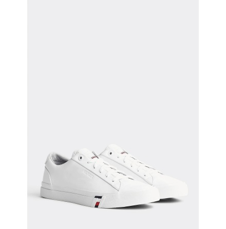 Corporate Leather Trainers, white