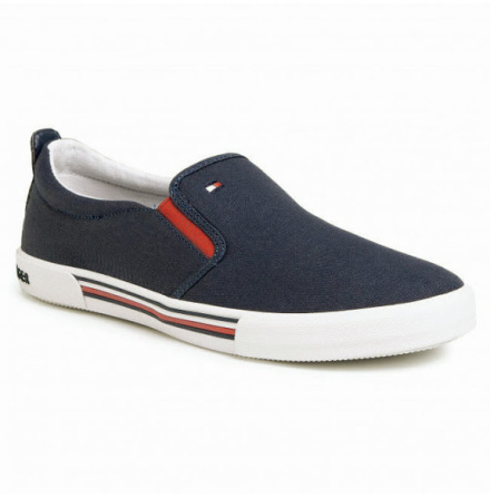 Pull-On Low-Top Trainers, blue