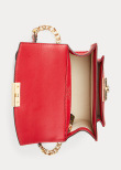 Beckett: Small Satchel Croco, red