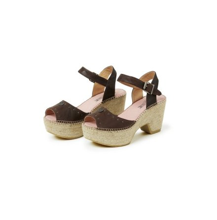 Dancefloor High Espadrillo Vintage Tan - Odd Molly