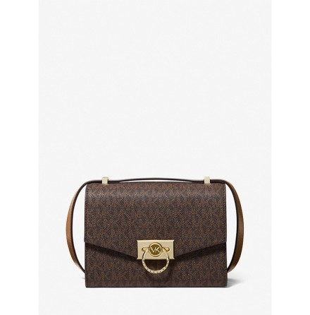Hendrix: Extra Small Crossbody, brown/acorn