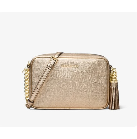 Jet Set: Medium Camera Bag, pale gold