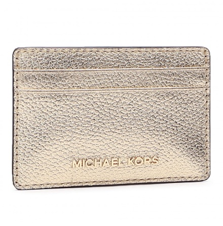 Jet Set: Card Holder, pale gold