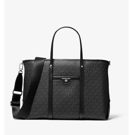 Beck: Medium Tote, black logo