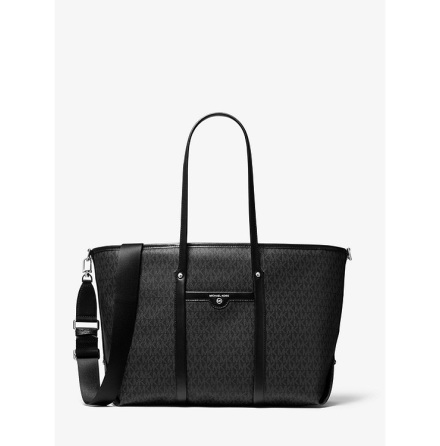 Beck: Large Tote, black logo