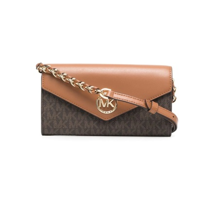 Carmen: Large Crossbody Wallet, brown/acorn