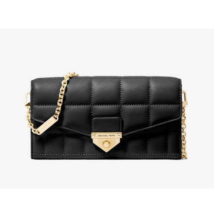 Soho: Large Crossbody Wallet, black