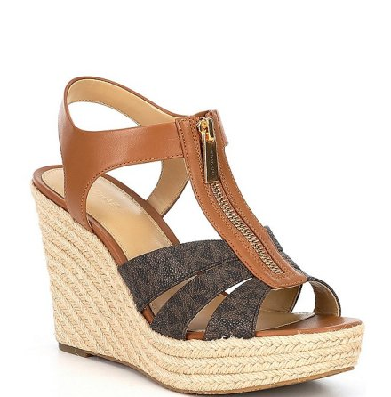 Berkley Wedge, brown/acorn