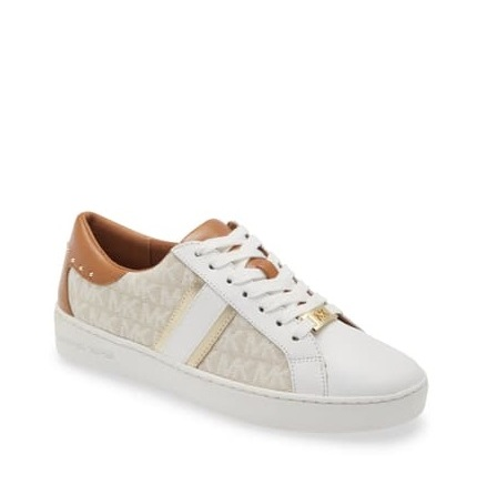 Keaton Stripe Sneaker, natural multi