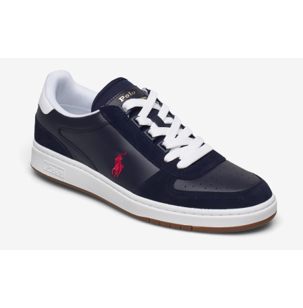 Polo Court PP Sneakers, newport navy/red