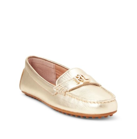 Barnsbury Loafers, Pale Gold
